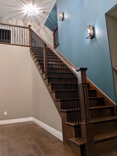 Hardwood Staircase 10