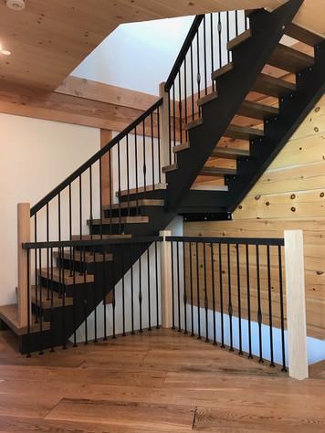 Open Riser Staircase 11