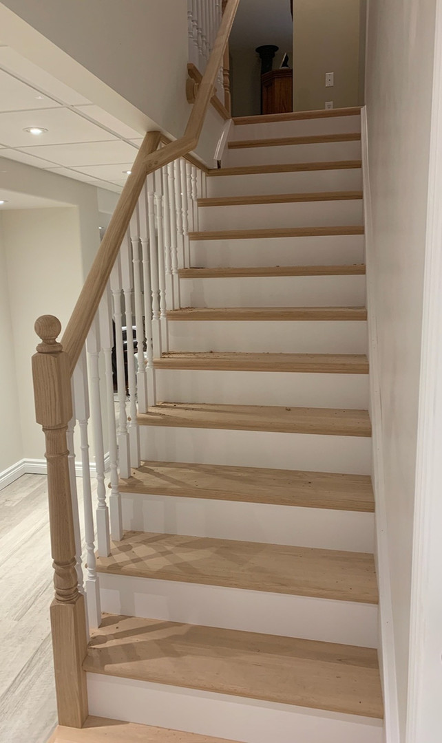 Hardwood Staircase 8