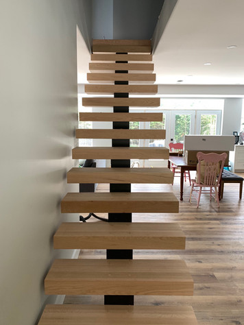Hardwood Staircase 6