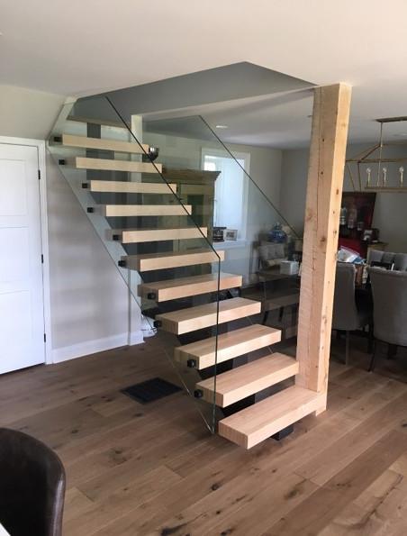 Open Riser Staircase 12