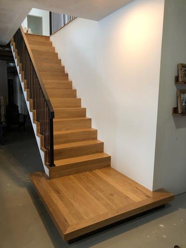 Hardwood Staircase 7