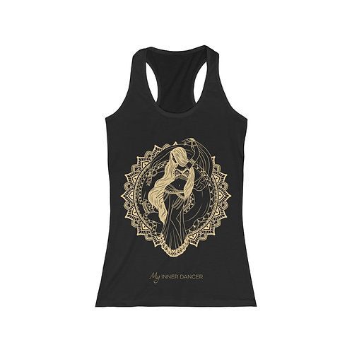Inner Goddess Tank Top - Gold