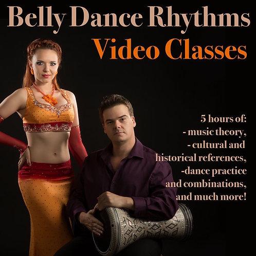 Belly Dance Rhythms - Package of 5 classes