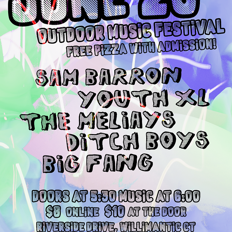 Sam Barron, Youth XL, The Meliays, Ditch Boys, Big Fang