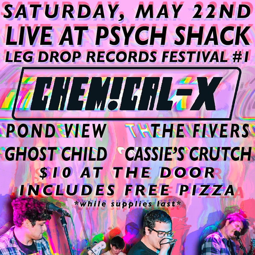 Chemical X, Pond View, The Fivers, Ghost Child, Cassie's Crutch