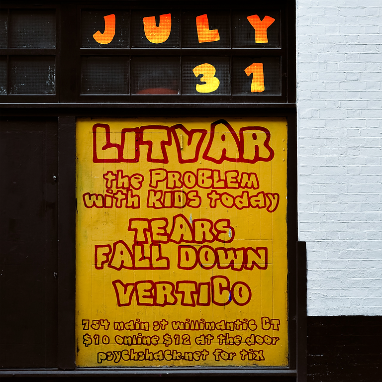 Litvar, The Problem with Kids Today, Tears Fall Down, Vertico