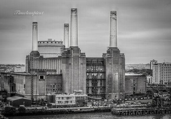 B&W Power station