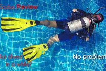 Refresher Pool Scuba class