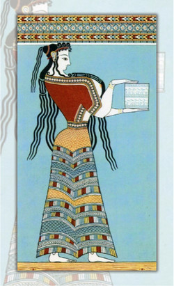 WOMAN IN TIRYNS
