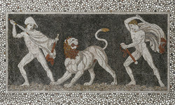 LION HUNTING PELLA