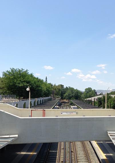 Thiseio metro station