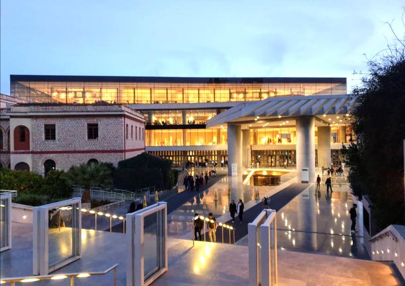 Acropolis Museum night view