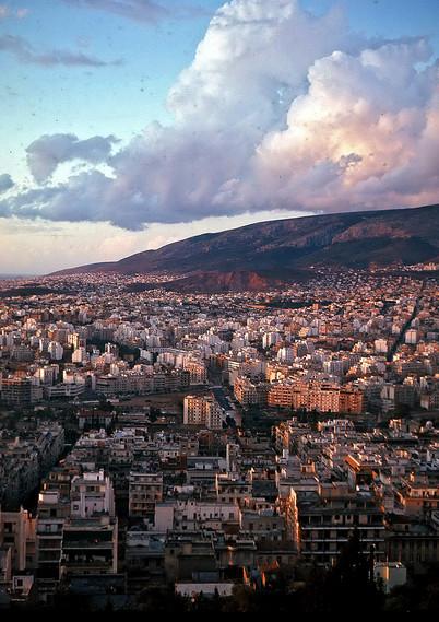 Athens Panoramic View