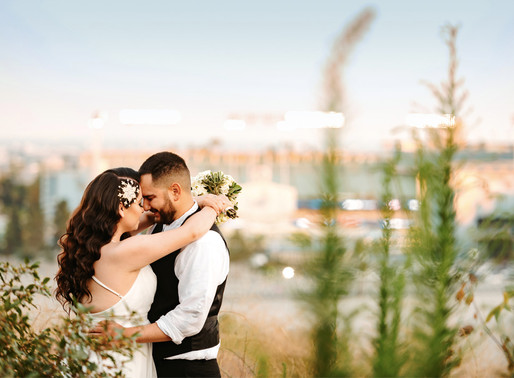 Elysian Park-Angel's Point- Couple Session