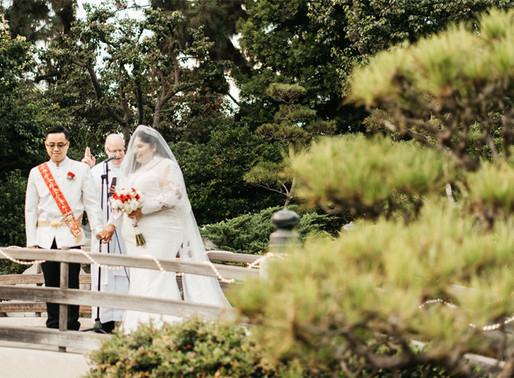 Earl Burns Miller Japanese Garden- Long Beach Wedding