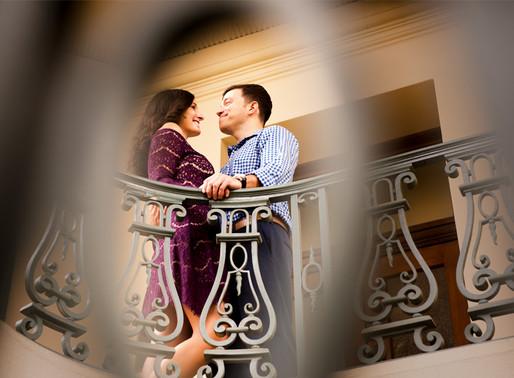 Arlington Garden & Pasadena City Hall Engagement Session