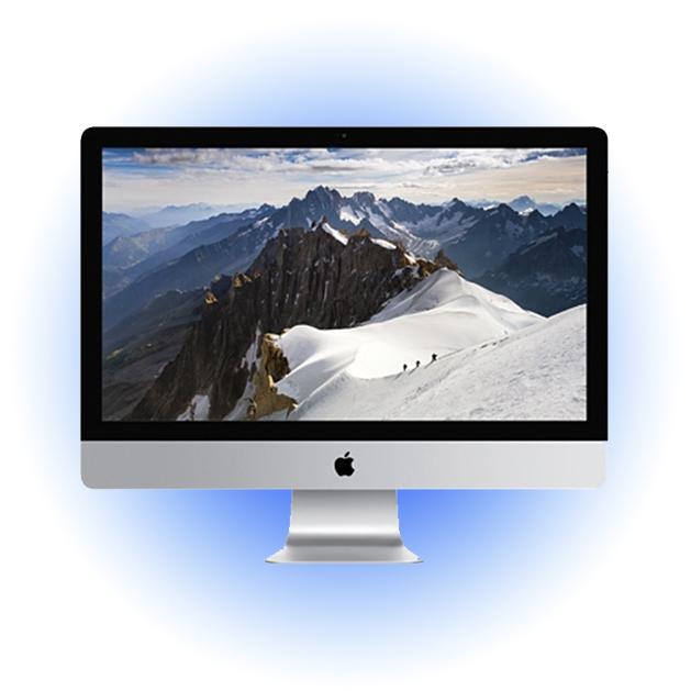 Моноблок Apple iMac 27'' silver-black