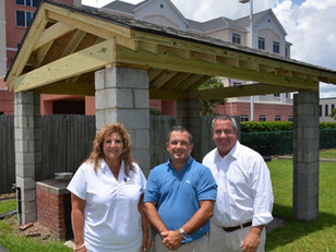 The Dewitt Tilton Group Donates New BBQ Pit Roof to Savannah Jaycees