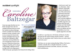 StoneWorks' Caroline Baltzegar Publishes First Novel