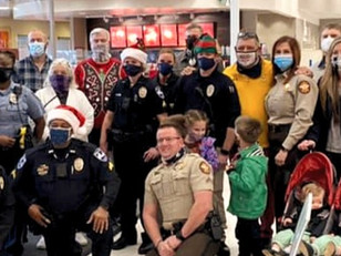 """Dewitt Tilton Group Supports """"Shop with a Cop"""" for Ronald McDonald House Charities"""