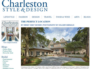 Our Work is Featured in Charleston Style & Design Magazine