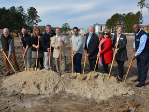 The Dewitt Tilton Group Breaks Ground on The Shops at Lakeside Village in Pooler