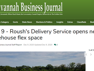 Local Media Reports On Roush's Delivery Service Opening