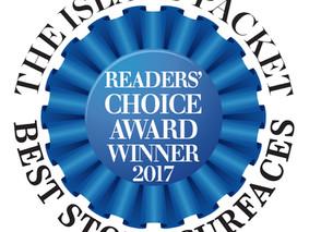 StoneWorks Wins Readers' Choice Award