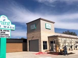 Dewitt Tilton Group Announces Completion of Mint Car Wash