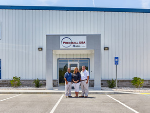 Dewitt Tilton Builds Preciball Warehouse; Wins National Recognition for Construction