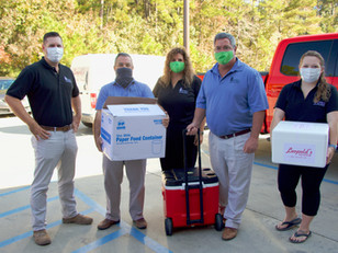Dewitt Tilton Group Provides Thanksgiving Meals to Pooler Fire Fighters