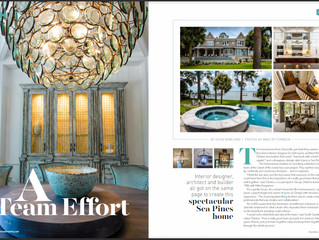 Our Work is Featured in Hilton Head Monthly