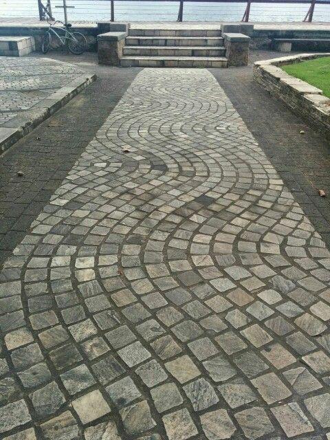 Stone-paver-path