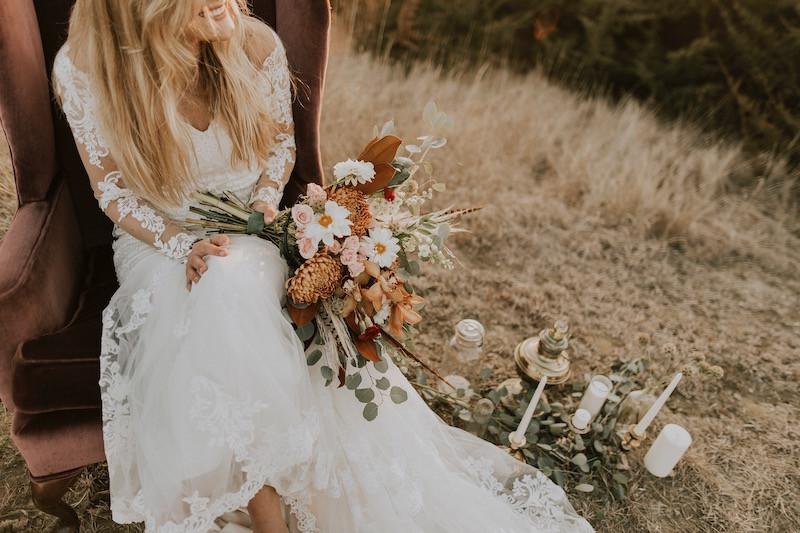 boho bride fashion