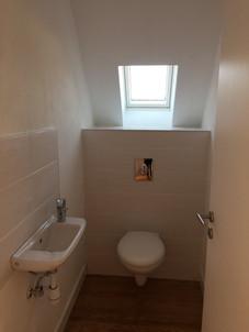 Colmar - Création d'un toilette suspendu à l'étage