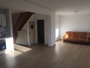Colmar - Vue du mur déposé dans le salon - séjour