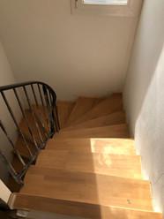 Rénovation Escalier bois