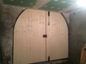 Rénovation et isolation d'un porte Cochère