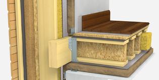 Projet d'une maison Ecologique à Hagenthal 68220 - principe Ossature bois