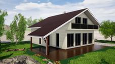 Projet maison bois Issenheim RENO'LINE
