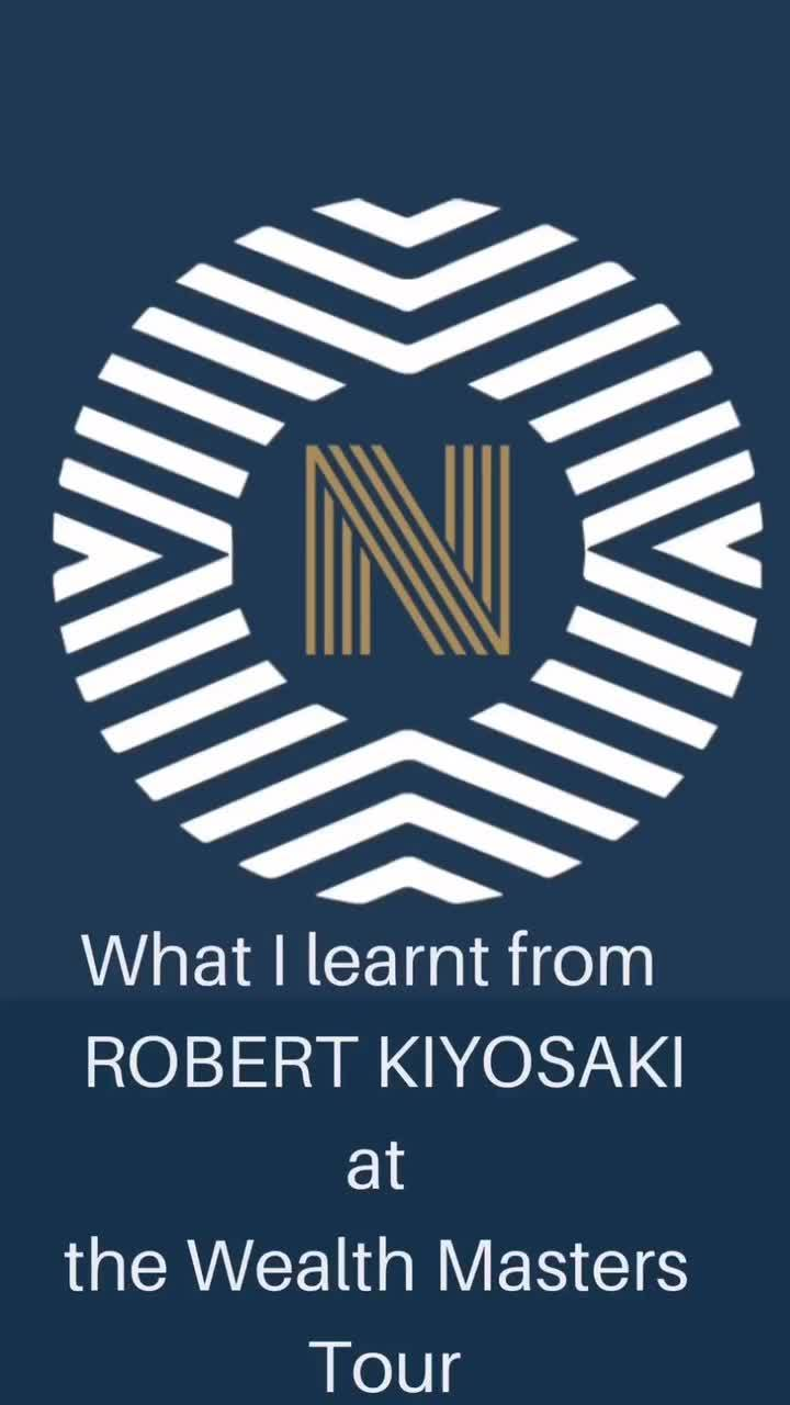 What I learnt from Robert Kiyosaki at the Wealth Masters Tour Success Resources Richdadpoordad #therealkiyosaki #toplearning #education #lifelearnings