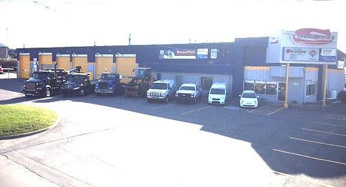 Suspension Turcotte Alma Garage