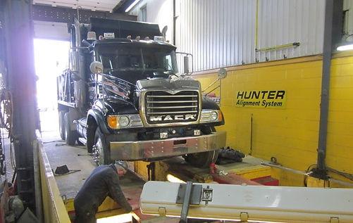 Alignement truck