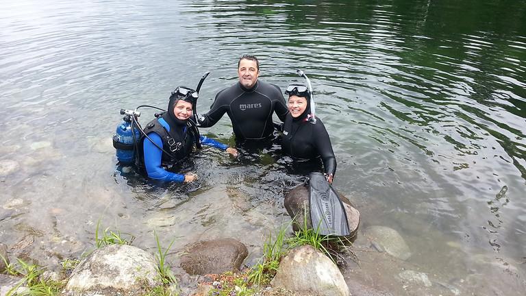 Introduction à la plongée - En lac