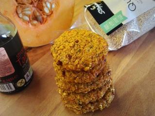 Mini burger di quinoa e zucca