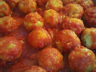 Polpettine di lenticchie rosse al sugo