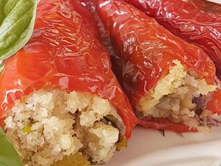 Peperoni Corno di bue ripieni alla Siciliana