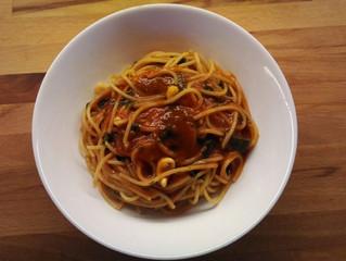 Spaghetti al profumo di mare felice