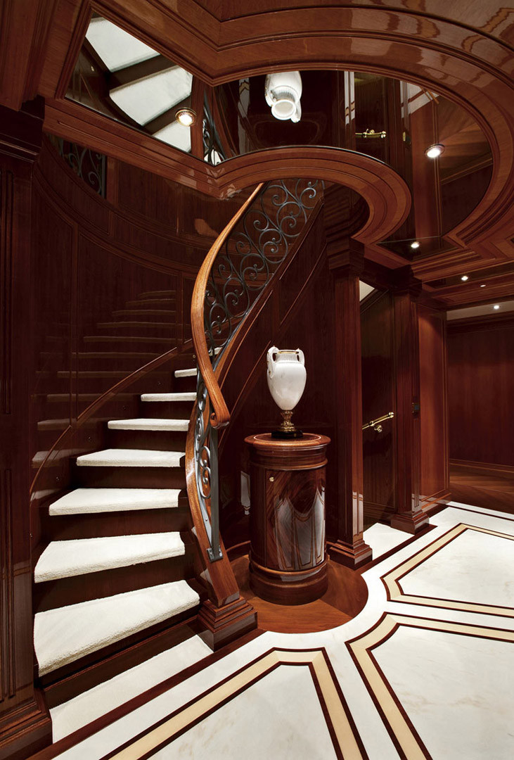 Yacht Staircase